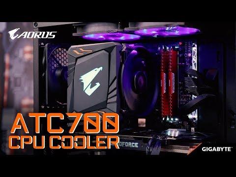 AORUS ATC700 CPU Cooler installation