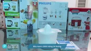 Máy vắt cam Philips HR2738 - Philips Daily Collection Citrus Press - Review and Unboxing