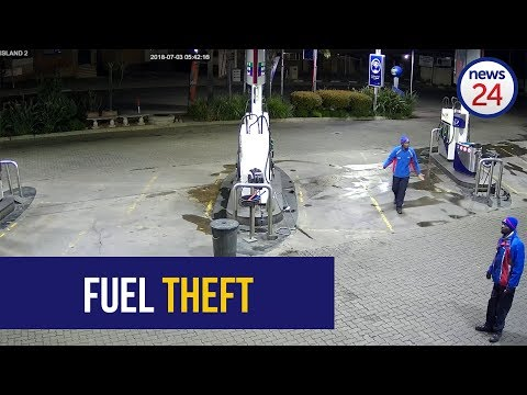WATCH: Limpopo driver makes off with two full tanks of fuel in as many days