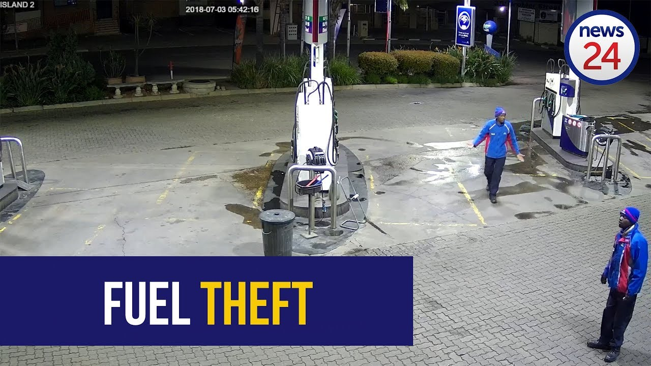 Tzaneen Engen Garage Watch Limpopo Petrol Thief Drives Away From Petrol Stations