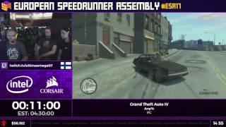 #ESA17 Speedruns - Grand Theft Auto IV [Any%] by UltimaOmega07