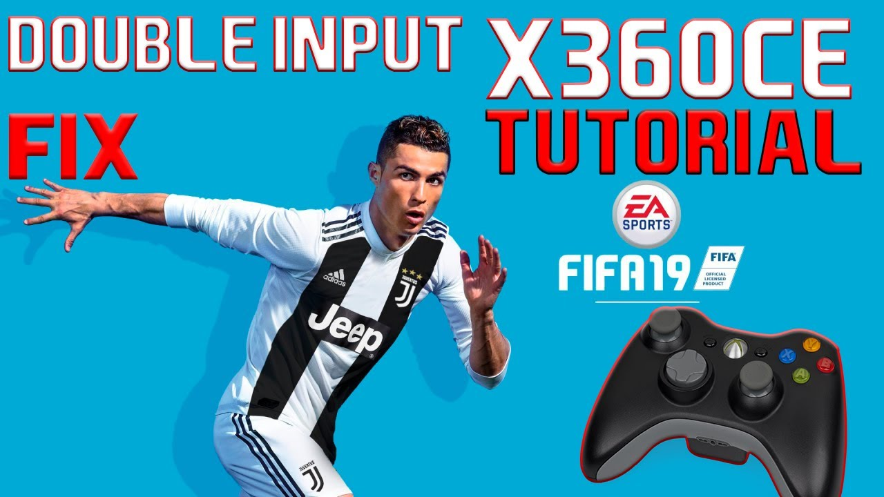 FIFA 19 x360ce Tutorial | Right analog stick and double input FIX