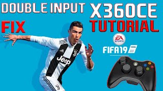 Gambar cover FIFA 19 x360ce Tutorial | Right analog stick and double input FIX
