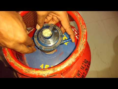 How to check a HP or any LPG gas regulator