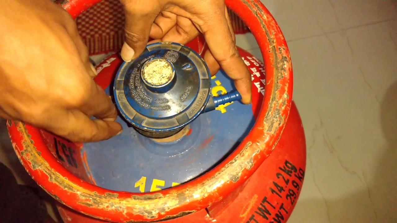 how to change gas regulator