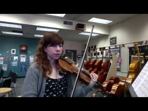 The Magical World of Pixar Violin 1