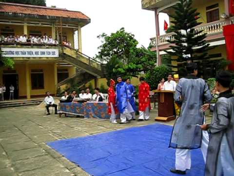 Một đoạn clip 1000 năm THĂNG LONG của trường THPT Yên Định II