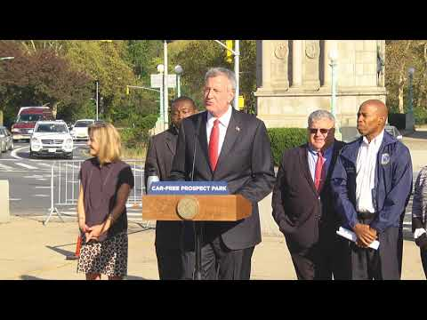One Brooklyn-- Car Free Prospect Park and Kick-Off of City Hall in Your Borough Week