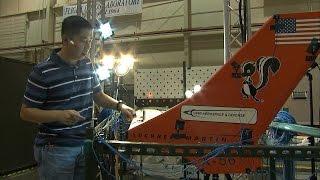X-56A Ground Vibration Testing