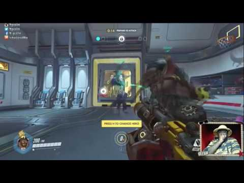 T-Pain highlight Compilation- OVERWATCH ON TWITCH