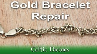 Impossible 9ct Gold Chain Repair &  Solder How To