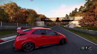 Project CARS 2 Honda Civic Type-R Controller Configuration
