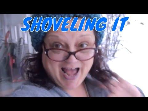 SHOVELING IT