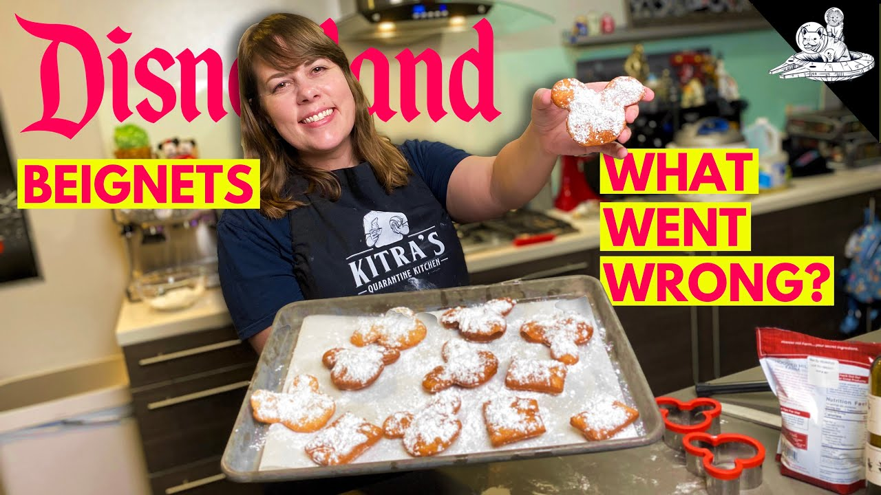 We Tried To Make Disneyland Beignets AND IT WAS A COMPLETE DISASTER!