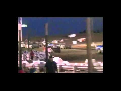 Shane Ludens wreck Late Mod Number 6