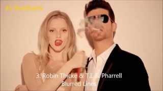 Top 10 - Топ 10 - 2 неделя сентября - Лучшие песни , лучшие хиты 15 09 2013