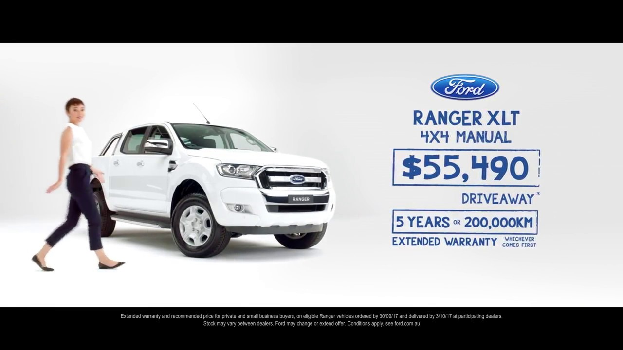 Ford Extended Warranty >> 5 Years Or 200 000km Extended Warranty On Ranger Binks Ford Youtube