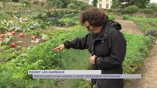 """Magny-les-Hameaux : Découverte d'un jardin classé """"Monument historique"""""""