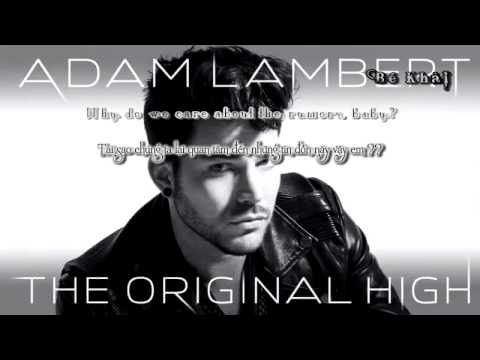[ Lyrics - Vietsub ] Rumors - Adam Lambert ft. Tove Lo
