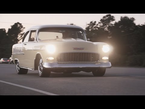 1955 BelAir with LS1 Corvette Motor Walk-around - Classic Car For Sale