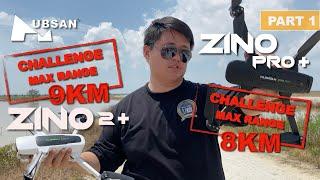 MAX RANGE TEST ON HUBSAN ZINO PRO PLUS/ZINO PRO+ 8KM & ZINO 2 PLUS/ZINO 2+ 9KM ( PART 1 )