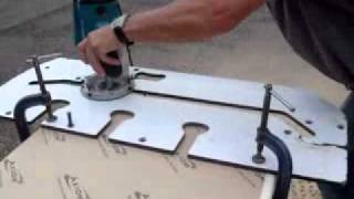 Kitchen Worktops - How To Cut With A Router