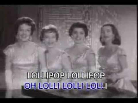 Chordettes Lollypop (live footage)