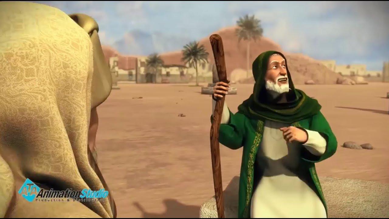 ماذا فعل عبد المطلب عند موت ابنه عبدلله