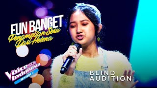 Helena Cinta - Almost Here | Blind Auditions | The Voice Kids Indonesia Season 4 GTV 2021
