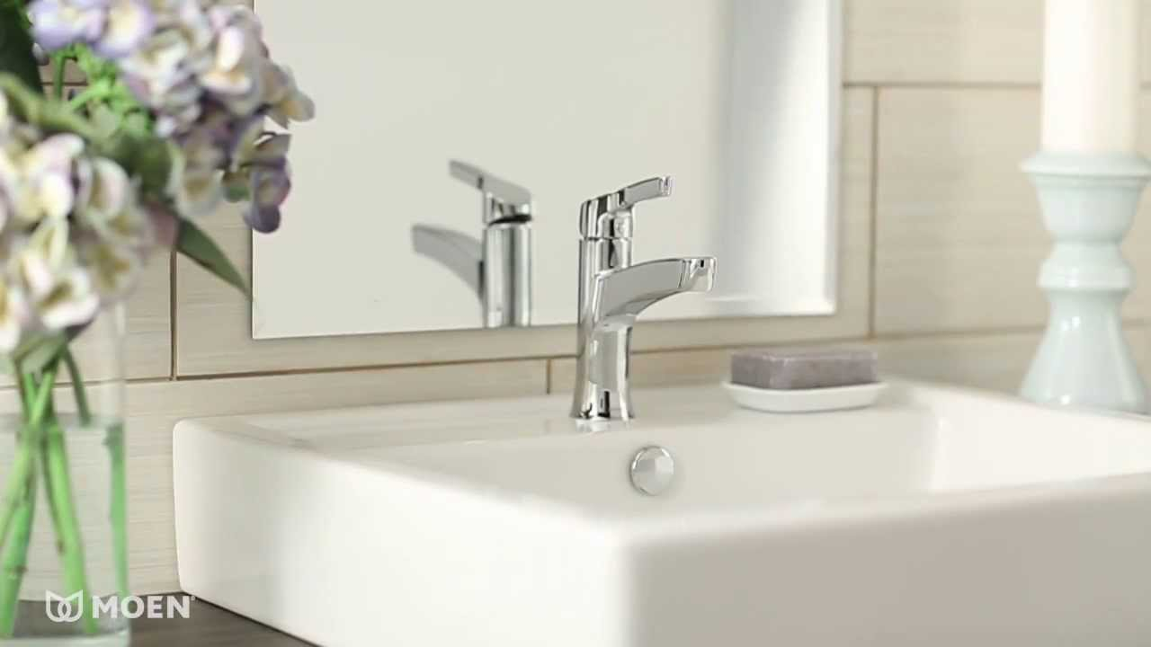 Danika™ 1-Handle Centerset Bathroom Faucet | Moen Features Spotlight ...