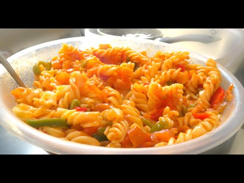 Sweet Pepper Tomato Pasta (Perfect For Kids Lunch) , No Nonsense Guide