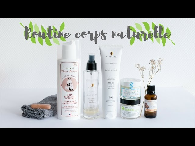 Routine corps naturelle | DIY gommage