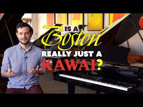 Are Boston Pianos Really Just Kawai Pianos?