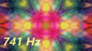 �������� ���� Solfeggio 741 Hz Meditation Music | Toxin Release, Improve Discernment & Intuition ������