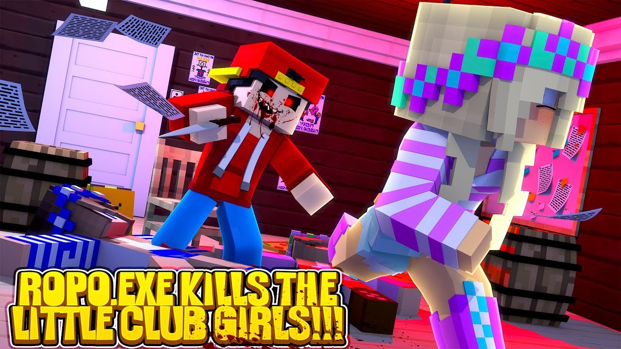 Minecraft ropo exe kills the little club girls w - The little club ...