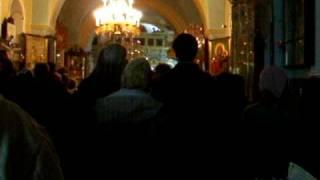 Рождество Христово, Иерусалим, Горний монастырь, 2009(, 2009-01-07T02:05:18.000Z)