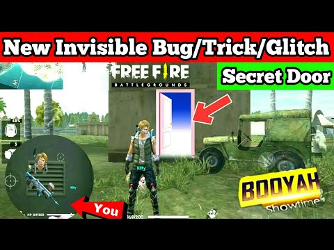 Garena Free Fire New update New Invisible Bug/Trick/Glitch Secret Door to hide Wifigamingdost