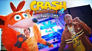 Crash Bandicoot 4: It's About Time – Official 4K Live Action Trailer Ft. Quavo