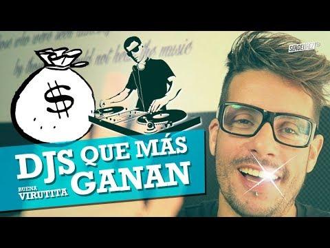 LOS 10 DJS QUE MÁS GANAN (revista Forbes Agosto 2017) 💎