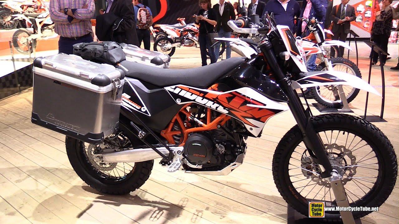 2015 ktm 690 enduro r - walkaround - 2014 eicma milan motorcycle
