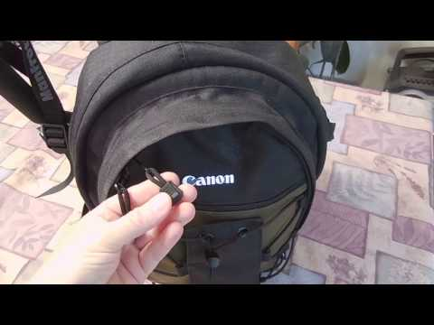 Canon Deluxe Backpack- camera bag