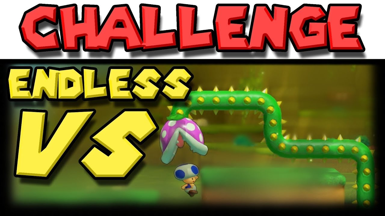 VS Endless Challenge with Blue Television Games   Super