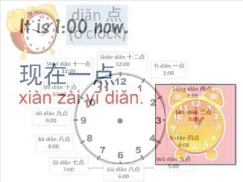 how to tell time in chinese