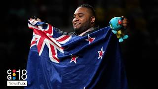 New Zealand Weightlifter David Liti Wins Gold At Commonwealth Games | Newshub