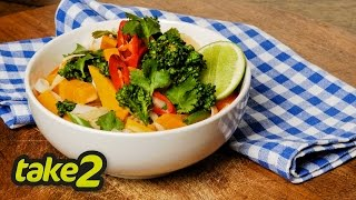 Pumpkin Laksa with Broccolini  Woolworths