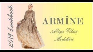 Armine Tesettür Abiye Modelleri 2019 Lookbook