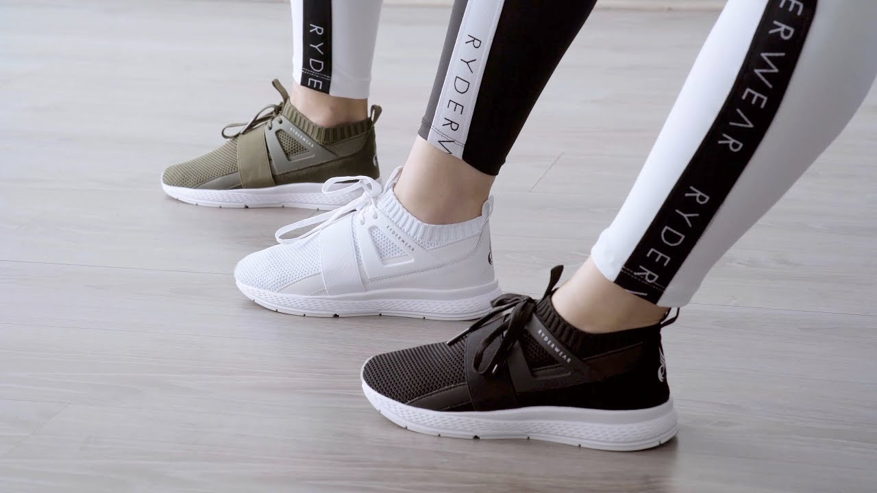 Ryderwear F-LO training sneakers - YouTube