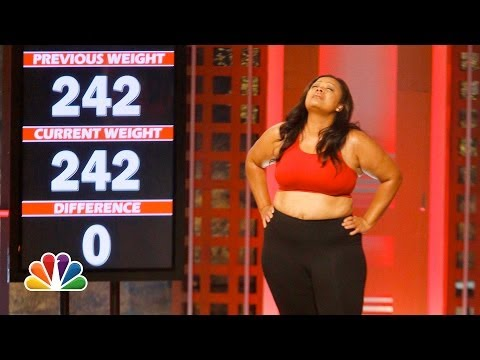 The Week 3 Weigh-ins - The Biggest Loser Highlight