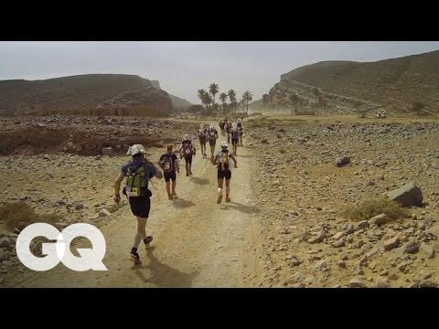 Marathon des Sables: Completing the Toughest Foot Race on Earth - GQ's Jogging With James  Part 2