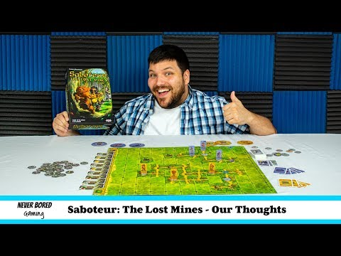 Saboteur: The Lost Mines - Our Thoughts (Board Game)